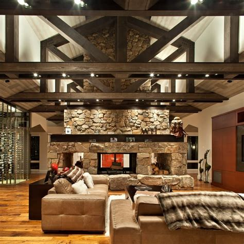 rustic family rooms rustic family room