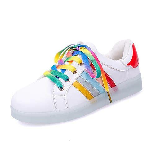 rainbow light up shoes rainbow light up shoes kokopiecoco