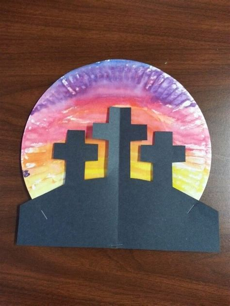 Paper Plate Bible Crafts - religious easter crafts find craft ideas