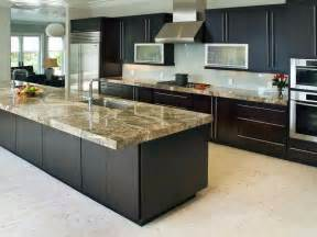kitchen island countertop ideas 10 high end kitchen countertop choices kitchen ideas