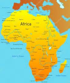 Current Map Of Africa by Map Of Africa Stock Photo 169 Olinchuk 2082722