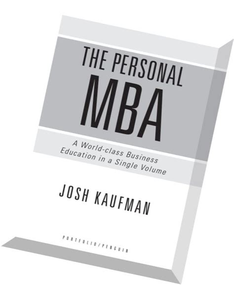 The Personal Mba by The Personal Mba Master The Of Business Pdf