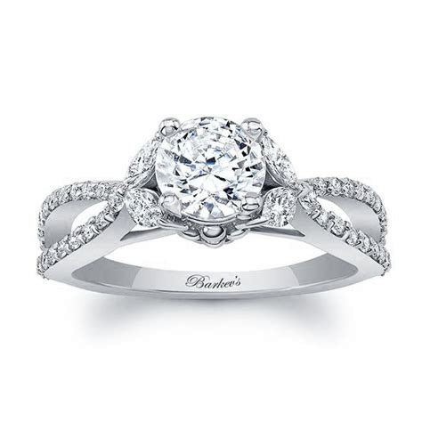 barkev s white gold engagement ring 8062l