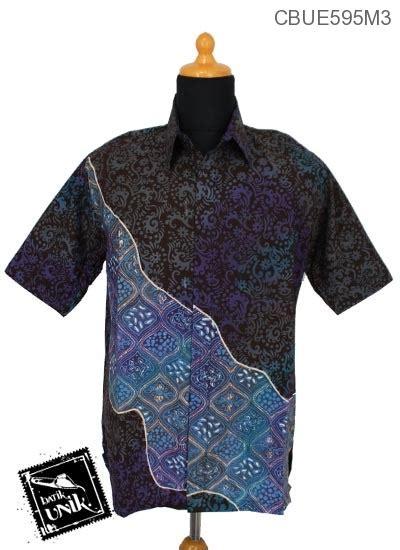 Set Kemeja 86 Warna Hitam kemeja batik ekslusive motif abstrak gradasi hitam kemeja lengan pendek murah batikunik