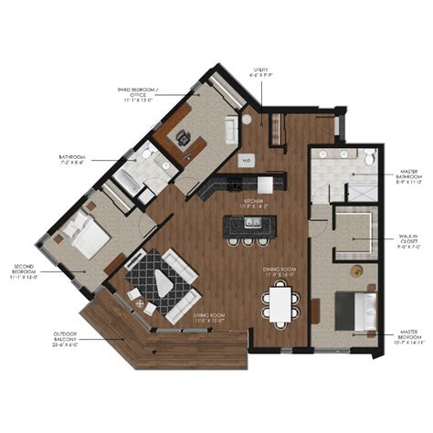 3 bedroom 2 bathroom 3 bedroom 2 bathroom style k forge and flare apartments