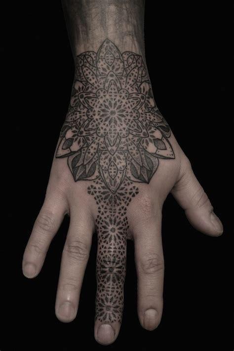 dotwork hand tattoo hand tattoos tattoostime search