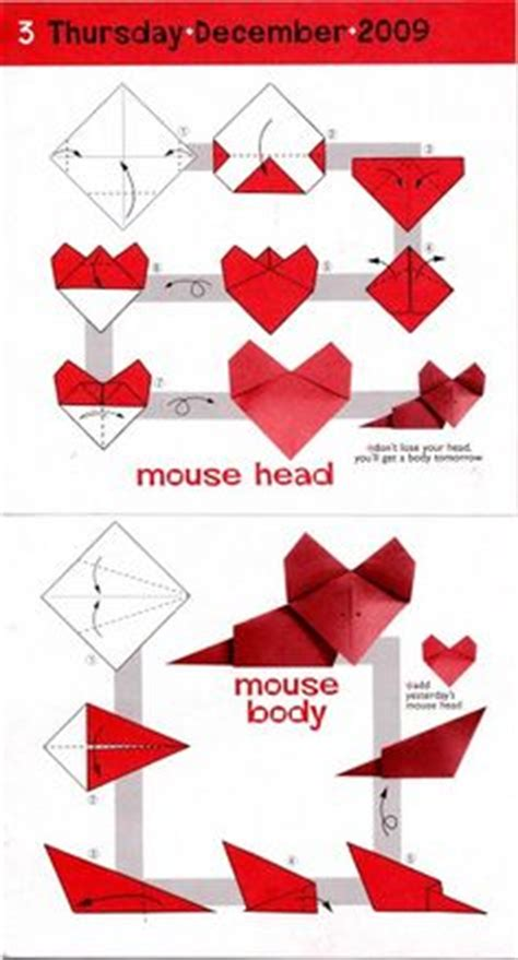 How To Make An Origami Mouse - 1000 images about origami animals mouse on