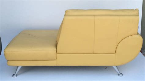 leather chaise lounge sale nicoletti leather chaise lounge for sale at 1stdibs