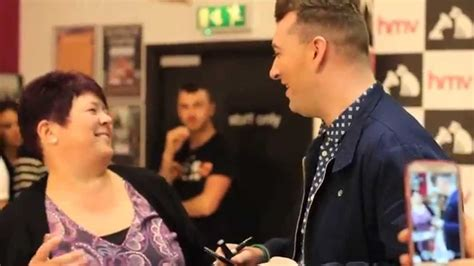 sam smith fan sam smith meets fans hmv manchester arndale centre