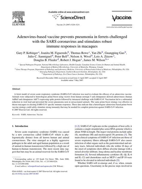 (PDF) 1092. Adenovirus-Based Vaccine Prevents Pneumonia in
