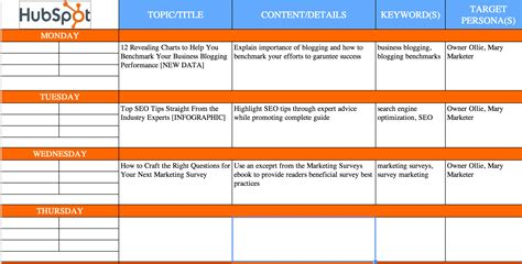 template content the complete guide to choosing a content calendar