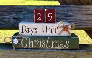 items similar to christmas countdown christmas decoration