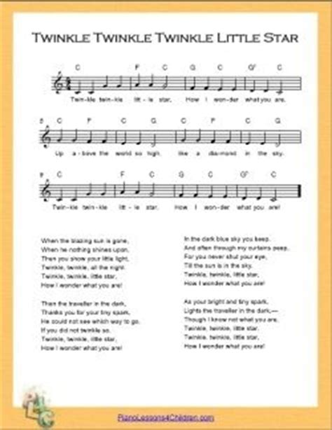 printable lullaby lyrics 17 best images about sheet music on pinterest printable