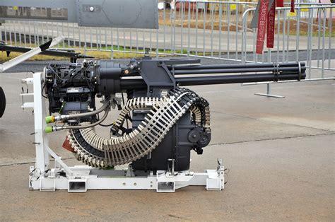 datei m61 vulcan nose mounted 6 barreled gatling cannon