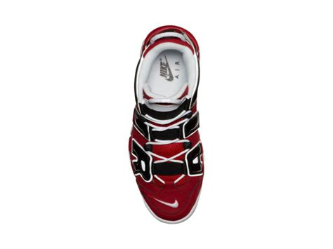 Sepatu Basket Air More Uptempo Bulls Black White nike more uptempo noir reflective