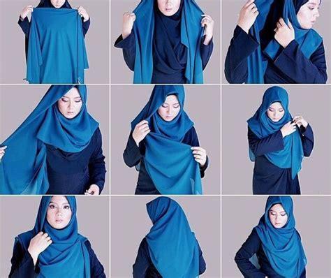 tutorial bungkus kado jilbab 8 tutorial jilbab menutup dada untukmu yang ingin bergaya