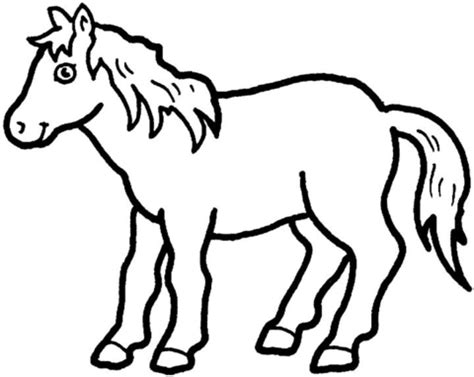 shetland pony coloring pages pony coloring page free printable coloring pages