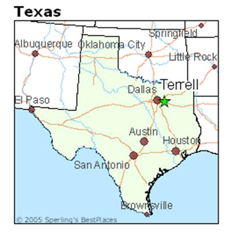 terrell county texas map best places to live in terrell texas
