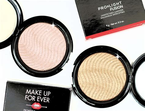 makeup forever pro light fusion highlighter up for pro light fusion highlighter review