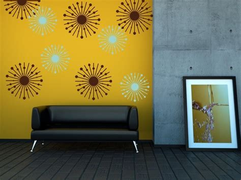 mid century modern wall atomic starburst college decorations mid century