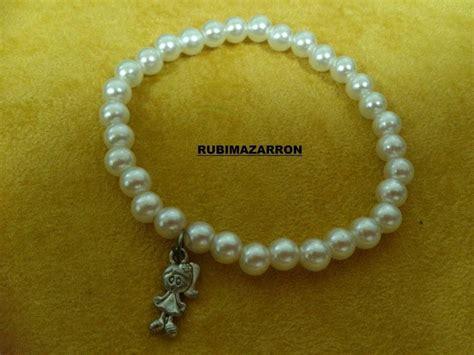 como hacer pulseras con perlas diy como hacer pulsera brazalete elastica con perlas