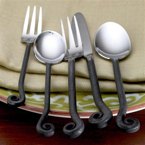 wrought iron flatware treble clef flatware for the home pinterest flatware