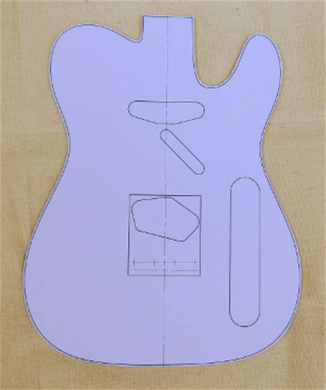 telecaster template printable telecaster templates pictures to pin on