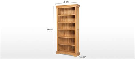 constance oak bookcase quercus living
