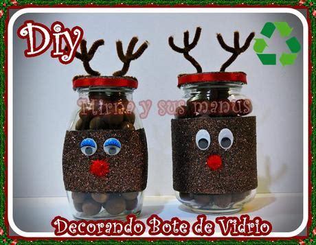 decorar vasos de vidrio para regalar diy como decorar bote de vidrio navide 241 os para regalar