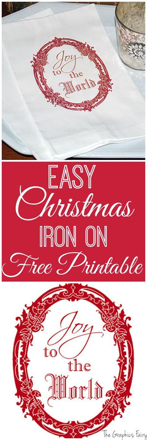 printable iron on graphics christmas iron on printable instant holiday art the