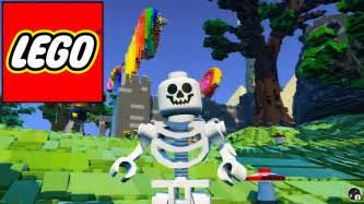 lego worlds cake castle 1