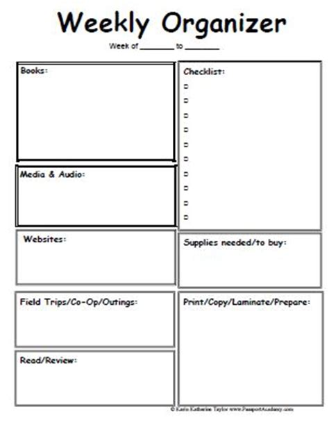 lesson planner planner pages and planner template on