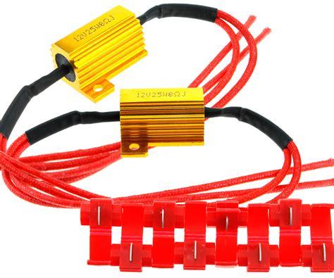 led load resistor motorcycle 2 x motorcycle bike led indicator relay load resistor 12v 25w bulbs ballast ebay