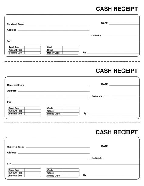 generic receipt template free free 15 generic receipt template create your