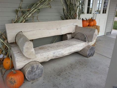 log bench designs log bench cabin ideas pinterest log benches logs