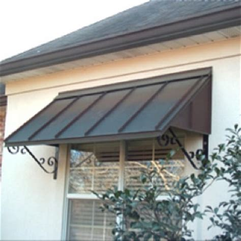 homemade door awning metal awnings are economical and often longer lasting read