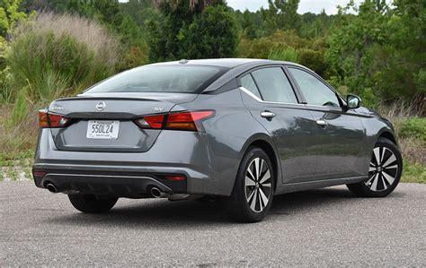 nissan altima sv review test drive
