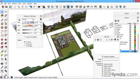 layout plan view location and site plan views