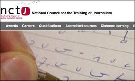 Journalism Qualifications by Nctj Editors Journalism Co Uk