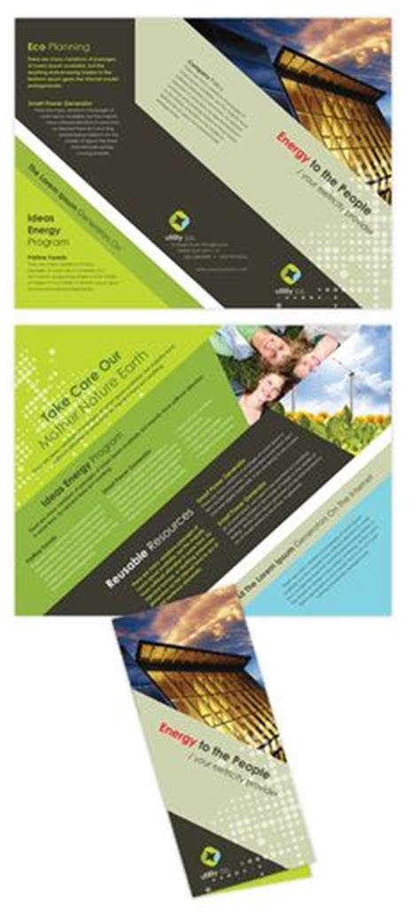 tri fold brochure illustrator template 5 best images of professional tri fold poster