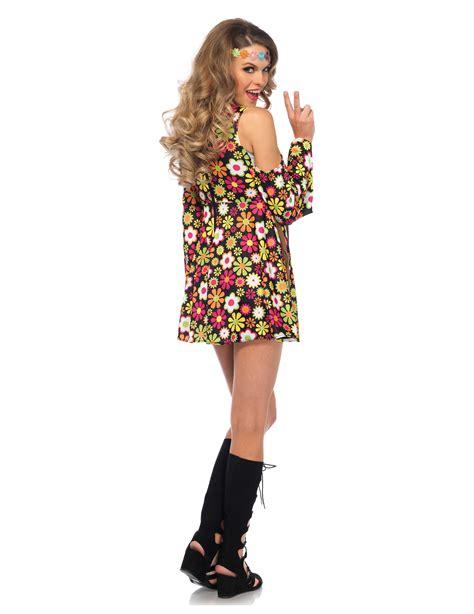 hippy figli dei fiori vestito hippie figlia dei fiori su vegaooparty negozio di