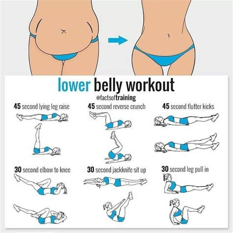 25 best ideas about lower tummy workout on