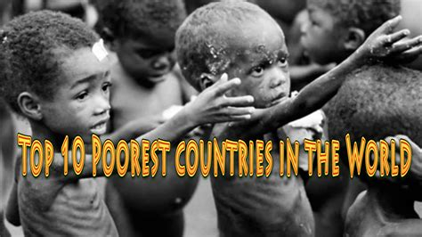 top 10 poorest countries in the world 2016