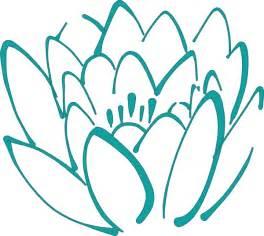 Teal Lotus Flower 12 Petal Teal Lotus Clip At Clker Vector Clip