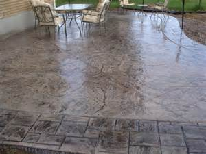 Decorative Cement Patio by Stamped Concrete Stamped Concrete Stamped Concrete Stamped