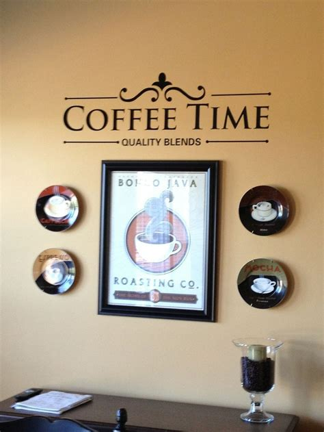 coffee themed kitchen wall decor coffee themed kitchen decor ideas homestylediary