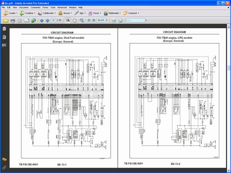 forklift wiring diagram for forklift engine diagram