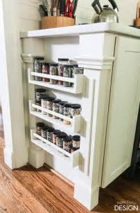 built in spice rack easy built in spice rack bekvam ikea hack
