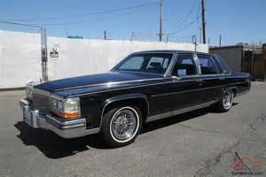 1986 Cadillac Fleetwood Brougham 1986 Cadillac Fleetwood Brougham Automatic 8 Cylinder No