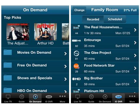 optimum tv to go app for android cablevision launches optimum iphone ipod app with cable tv